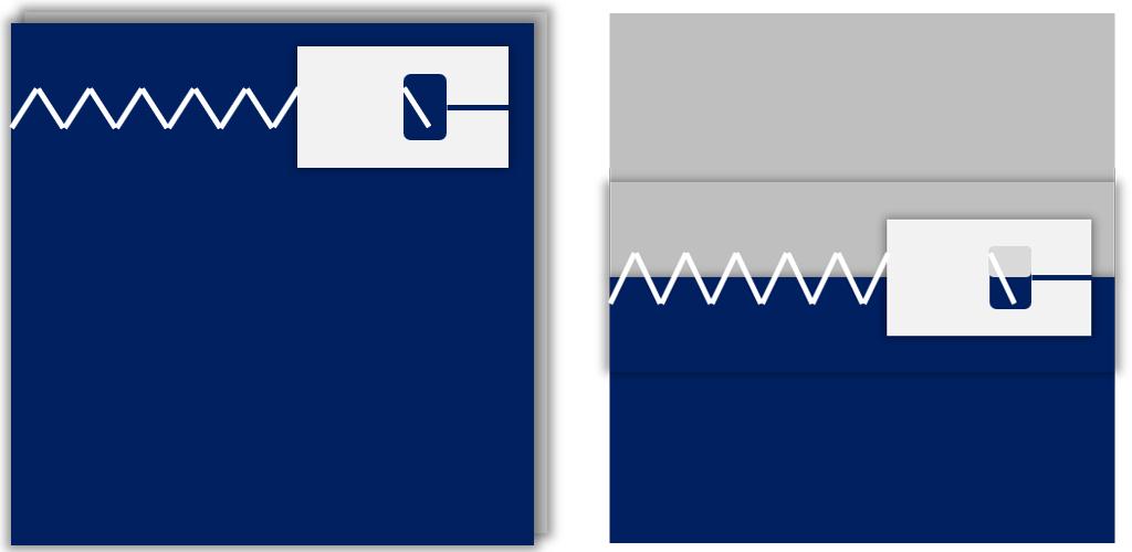 Hier siehst du zwei schematische Beispiele für die Nähte.