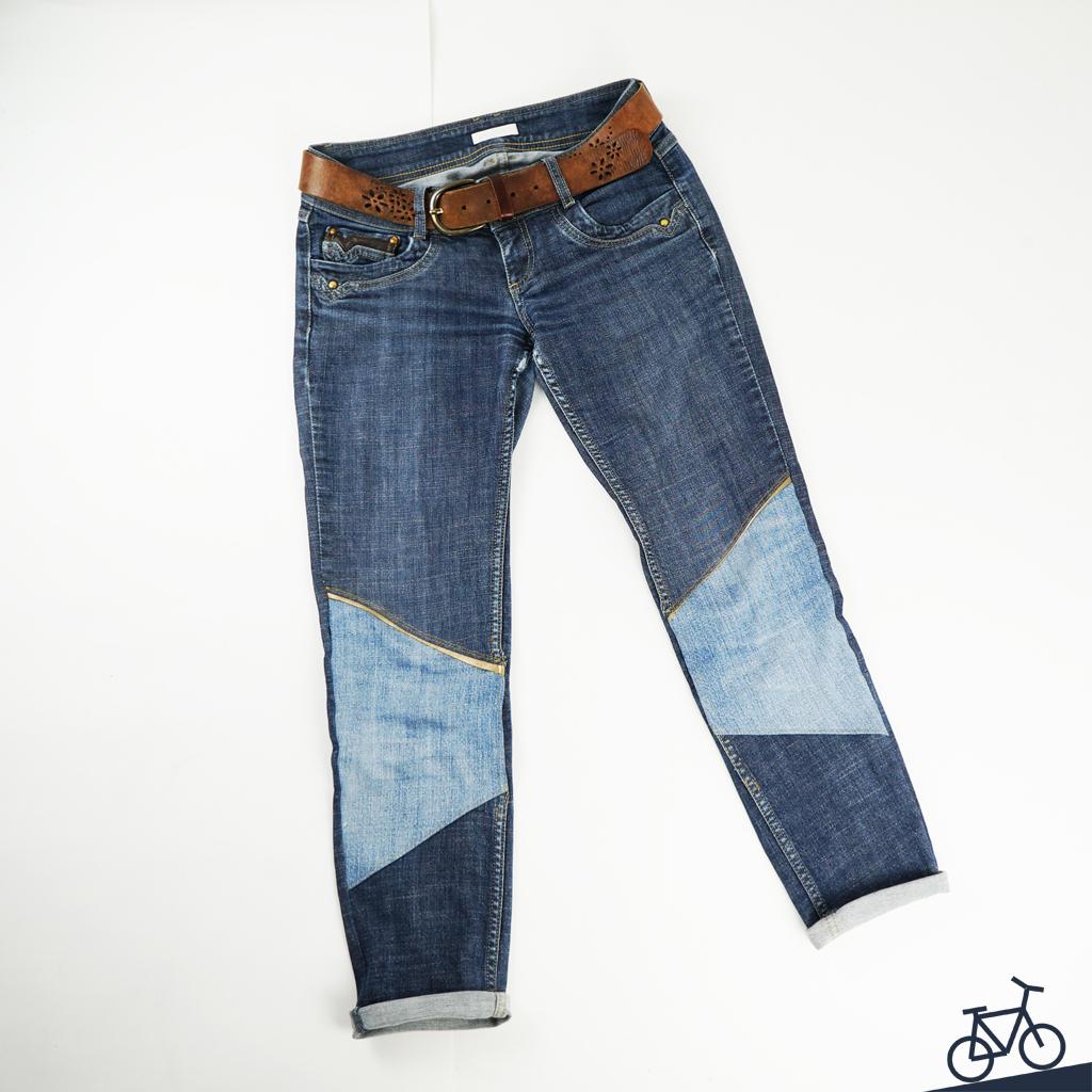 Upgecycelte Jeans